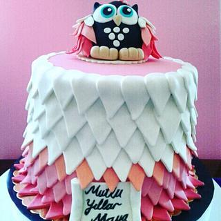 Birthday cake 🦉
