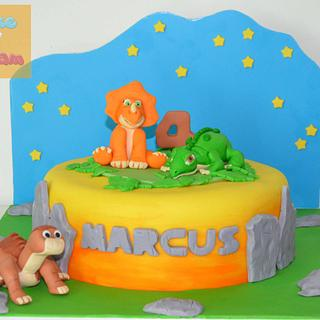 Land before time cake - Cake by Cake 'n' Cream