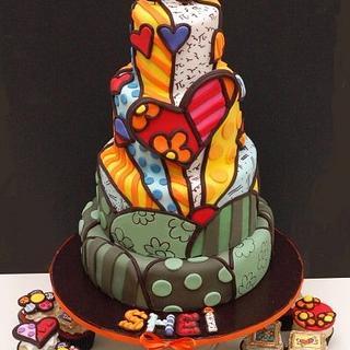 My Britto birthday cake :) - Cake by Sheila
