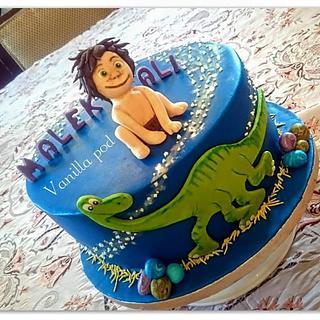 the good dinosaur cake