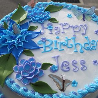 Jess's Birthday Cake