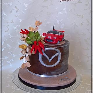 Birthday cake to 40th
