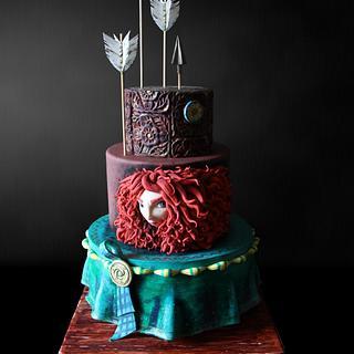Mérida Brave Cake