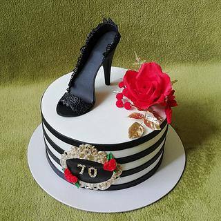 shoes cake - Cake by MoMa