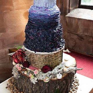 Tickety Boo - Rustic Textured Wedding Cake