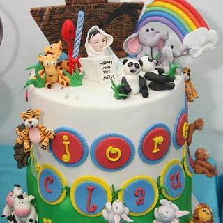 my son's first bday cake - Cake by claudine