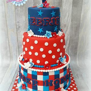 Dutch color cake