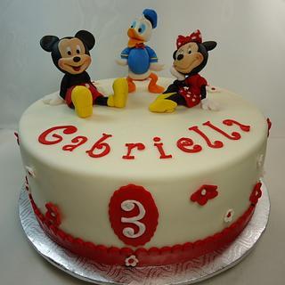 Minnie, Mickey  and Donald