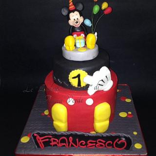 Topolino - Cake by Dolci Fantasie di Anna Verde