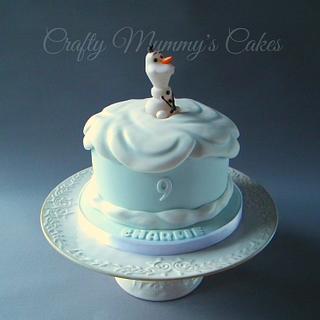 Frozen Olaf - Cake by CraftyMummysCakes (Tracy-Anne)