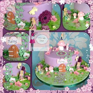 Fairy garden - Cake by Tricia morris