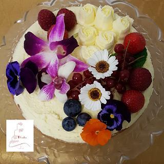 Spring wedding cakes - Cake by Judith-JEtaarten