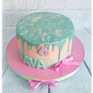 LOL Pastel drip cake - Cake by Kitchen Island Cakes