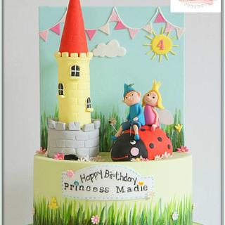 Ben & Holly - Cake by Jo Finlayson (Jo Takes the Cake)