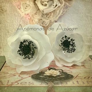 Anémonas  - Cake by Griselda de Pedro