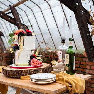 Weddingcake styled shoot in Holland