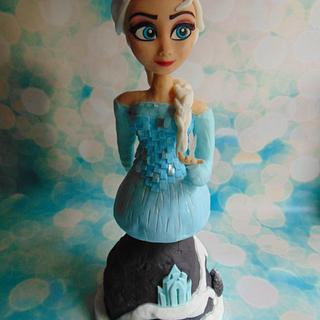 Glowing Queen Elsa