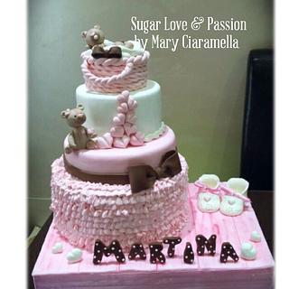 Lovely Birth cake