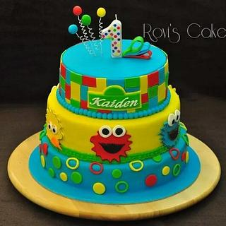 Sesame theme cake - Cake by Rovi