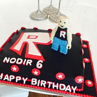 Rowblox cake - Cake by Malika