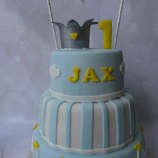 1st cake for Jax