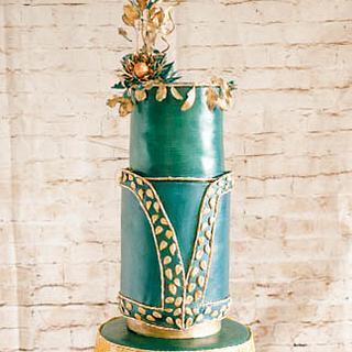 Zuhair Murad Fashion Inspired Collaboration Cake