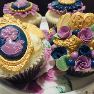 Mary Antionette inspired Cupcakes
