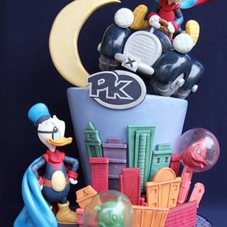 Duck Avenger Cake for Cake Con International Collaboration