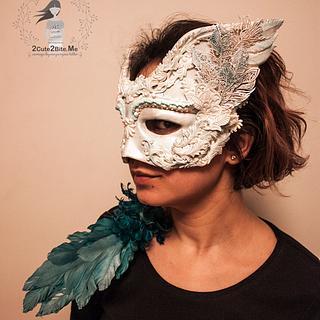 Edible Mask - Venetian Carnival Collaboration
