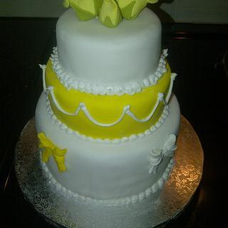 Mini 3 tiered cake