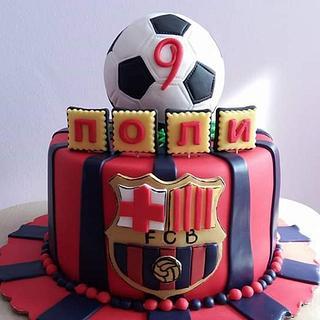 Viva la Barcelona  - Cake by Nadi Ivanova