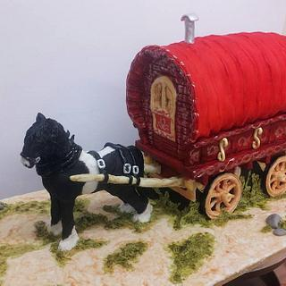 Gipsy Caravan & Horse
