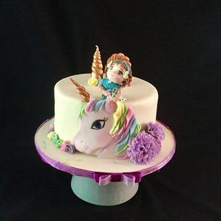 Unicorn Birthday Cake - Cake by Goreti