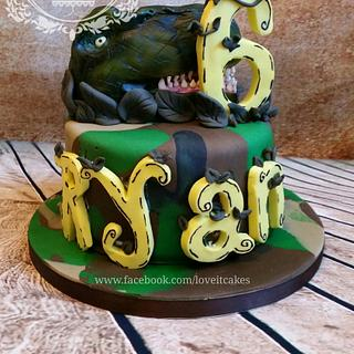 T rex - Cake by Love it cakes