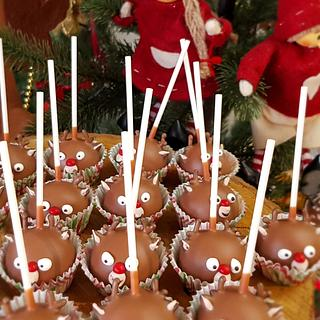 Cake Pops Małe reniferki
