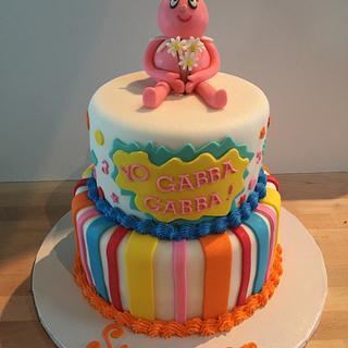 Yo Gabba Gabba - Cake by Pattie Cakes