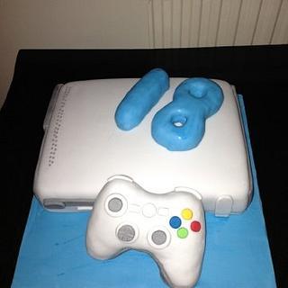Xbox 360 Cake :)