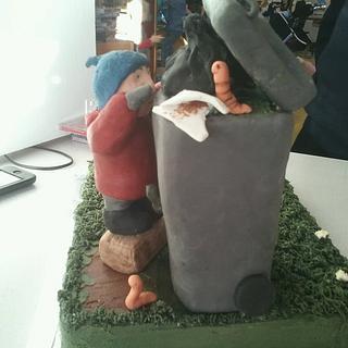 Bin Boy Cake