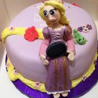 Rapunzel!!!  - Cake by Toni Lally