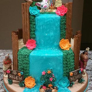 """""""Moana"""" Birthday Cake"""