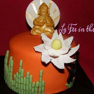 Gâteau Bouddha - Cake by lafeeinthecake