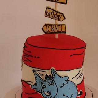 Dr. Seuss Birthday Cake - Cake by Morgan