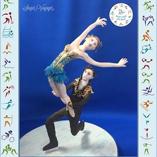 Pair Figure Skating - Sport Cakes for Peace collab