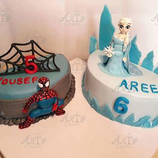 Spider vs. Elsa