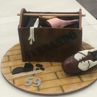 Shoebox Cake - Cake by ladygourmet