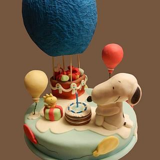 """Torta """"Auguri da sogno"""" (""""Dream greetings"""" cake)"""