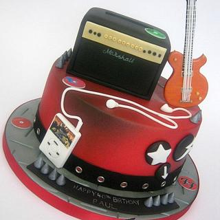 Rock/Metal Music Cake