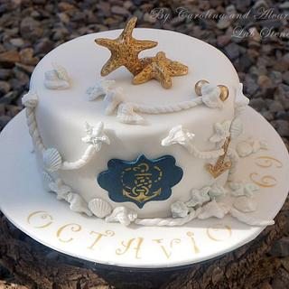 Cake for a marine