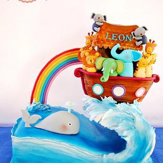 Gravity Defying Noah Ark