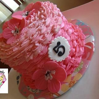 Tropical-ish Pink Birthday